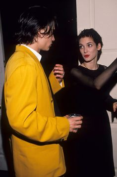Johnny Depp and Winona Ryder