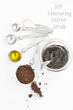 DIY Exfoliating Coffee Scrub