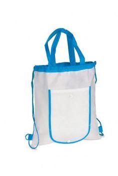 Roll-Up Drawstring Rucksack  Foldable non-woven drawstring backpack.
