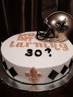 New Orleans Saints Cake