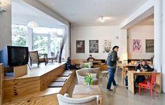 Coworking Space - Betahaus, Berlin Germany