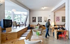 Coworking Space - Betahaus, Berlin Germany