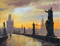 Prague Charles Bridge 05