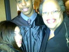 Ja'red's graduation at College.