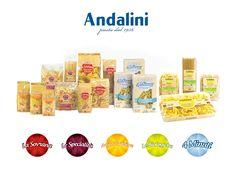 I nostri prodotti | Pastificio Andalini www.andalini.com