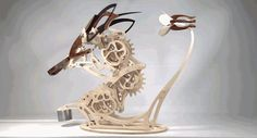 You Probably Don't Have Enough Patience To Build This Kinetic Hummingbird