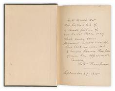 Inscription from 1915...