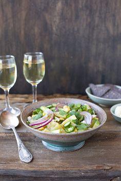 Cilantro Jalapeno Vinaigrette Potato Salad - CaliZona