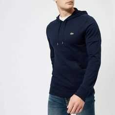 4cb2127f960c33 Get Lacoste Men s Lightweight Hoody - Navy Blue now at Coggles - the one  stop shop for the sartorially minded shopper.
