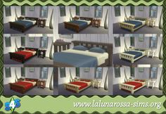 Sims 4 Bed