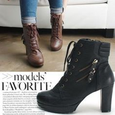 Reneve – Zip-Trim Ankle Boots