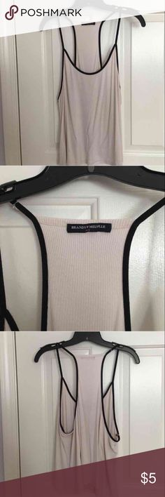 Brandy Melville top Perfect condition, make offer & I'll accept Brandy Melville Tops Tank Tops