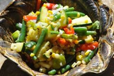 Summer Succotash | New Paradigm Health Cookery | Information and Recipes about New Health Enhancing, Whole Food, Plant-Based Diet