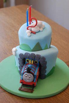 Boys 2nd Birthday Cake Ideas