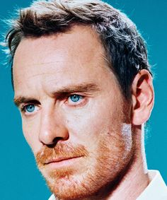 timeMichael Fassbender ( plays the legendary tech giant in the new Aaron Sorkin and Danny Boyle movie, which opened nationwide this weekend. Ironically, Fassbender says his technophobia is so acute that computers tend to crash whenever he's nearby. Michael Fassbender, Cinema 21, Miles Aldridge, Ginger Beard, Best Portraits, Marvel, Time Magazine, Irish Men, New Words