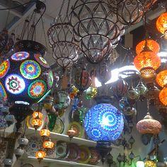 stunning Turkish lamps