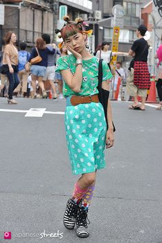 FASHION JAPAN: Momoka (Harajuku,Tokyo,Blanco,SASSON,The CIRCUS Harajuku,FOREVER21,24FOOTWEAR)