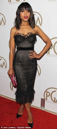 Kerry Washington @ 2013 Producers Guild Awards