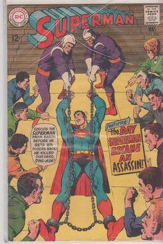 Superman DC Comic 206 May 1968 9.2 item 2 B  9.3 by MAYSVTG, $59.95
