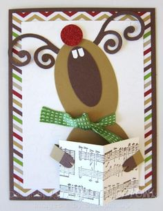 SUO - Singing Reindeer by 1stampingnightowl - Cards and Paper Crafts at…