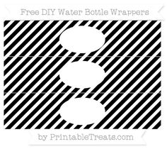Free White and Dark Olive Green Diagonal Striped DIY Water Bottle Wrappers Printable Water Bottle Labels, Printable Labels, Party Printables, Free Printables, Green Water Bottle, Gold Water, Dodger Blue, Diy, Aqua Blue