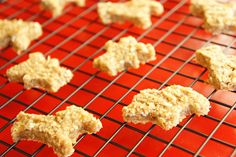 Healthy, Easy to make 3 ingredient Peanut butter Oatmeal Animal Cookies for toddlers and kids.