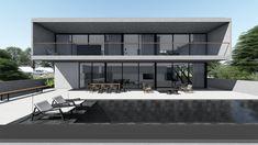 CASA PC | Condomínio Roland Garros em Florianópolis SC. #casa #arquitetura #casas #concreto #florianopolis #arquitetos #ideias #fachada #arquitectura #houses