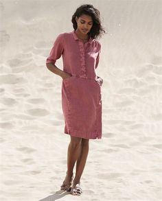 Product Image of Linen shirtdress