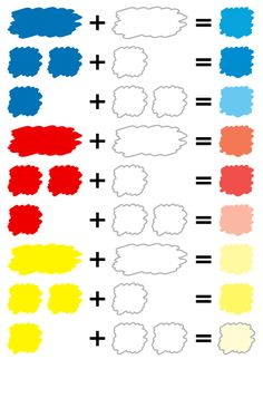 Page of Color mixing table! The recipe of mixed-color color. It is a site where it was spelt to think of the color that catches its eye in daily life. Acrylic Painting Techniques, Painting Lessons, Painting For Kids, Painting Tips, Art Techniques, Art Lessons, Mixing Paint Colors, Color Mixing Guide, Color Mixing Chart