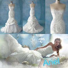 Disney wedding dresses- Ariel