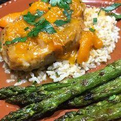 Honey Apricot Pork Chops Glazed Pork Chops, Juicy Pork Chops, Boneless Pork Chops, Pork Loin, Honey Mustard Pork Chops, Grilled Pork, Grilled Steaks, Chops Recipe, Pork Chop Recipes