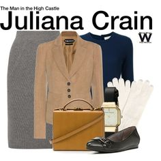Inspired by Alexa Davalos as Juliana Crain on The Man in the High Castle