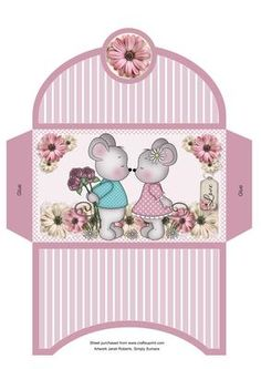 - This money wallet goes with my 'Love Mice' money wallet . please see the link below Box Templates Printable Free, Christmas Letterhead, Envelope Box, Cardmaking And Papercraft, Free Christmas Printables, Card Envelopes, Card Making Inspiration, Card Sketches, Stationery