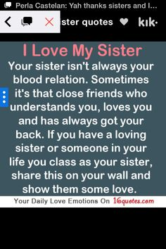 BFF quotes Perfect @Mirelle Mirabella Archibald  I told you!  8 brothers, 3 sisters!