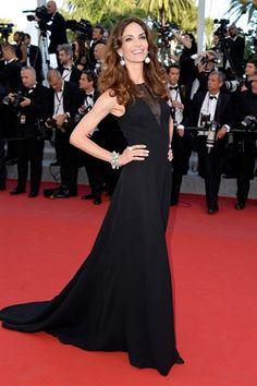 Festival di Cannes 2015: Eugenia Silva in Christian Dior.