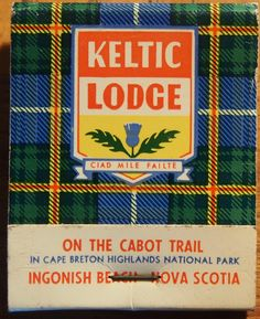 Keltic Lodge - Nova Scotia #matchbook To order your business' own branded #matchbooks call 800.605.7331 or go to: www.GetMatches.com.
