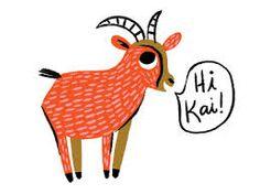 Image result for baby goat illustration