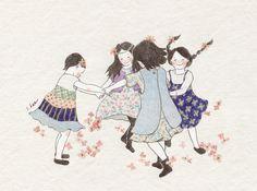 손잡고 빙글빙글 돌기만해도 정말정말 재미났던우리들.... 풀꽃반지 나눠 끼고 우정을 맹세했던... 얘들아....잘 살고 있니?.....