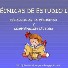 TÉCNICAS DE ESTUDIO II DESARROLLAR LA VELOCIDAD Y COMPRENSIÓN LECTORA http://julio-detodounpoco.blogspot.com/ julioprofe   INTRODUCCIÓN Nuestro cerebro re. http://slidehot.com/resources/tecnicas-de-estudio-ii.34997/