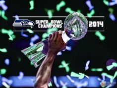 Congratulations to the 2014 Super Bowl Winners: Seattle Seahawks. Very well, thank you. Seahawks Super Bowl, Seahawks Football, Nfl Football Teams, Best Football Team, Sports Teams, Football Parties, Seattle Sounders, Seattle Seahawks, Seattle Football