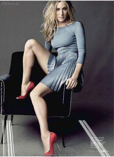 silver dress - red shoes --- Sarah Jessica Parker - SATC - Carrie Bradshaw 437e1b192fd