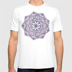 Ultraviolet Mandala T-shirt by beebeedeigner Comfy Hoodies, Ultra Violet, Lounge Wear, Tank Man, Fashion Outfits, Casual, Clothing, Mens Tops, T Shirt