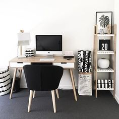 35 lovely home office design ideas to get inspiration #homeoffice #workspace