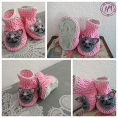 HandMade Knitted Amigurumi Toys, Dolls and Clothes by HMReny Bebe Baby, Baby Boots, Amigurumi Toys, Etsy Seller, Crochet Hats, Dolls, Creative, How To Make, Kids