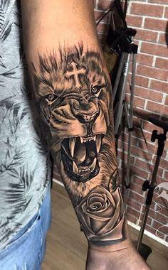 120 Tatuagens masculinas no braço – Fotos e Tatuagens – # Check more at 120 Tattoos on the arm – Photos and Tattoos – # Check more at …. Lion Arm Tattoo, Lion Forearm Tattoos, Lion Tattoo Sleeves, Forarm Tattoos, Tribal Arm Tattoos, Lion Tattoo Design, Best Sleeve Tattoos, Dope Tattoos, Lion Head Tattoos