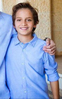 Prince Hashem de Jordanie, Janvier 2018, Photo publiée par le Prince Hussein pour ses 13 ans