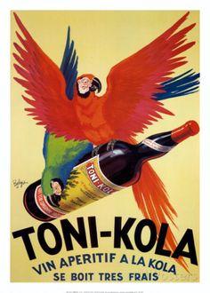 Toni-Kola Kunst von Robys (Robert Wolff) bei AllPosters.de