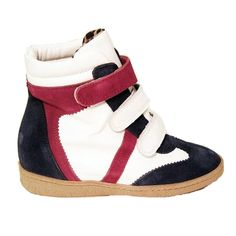 21f022213ed MTNG Amberes - Navy   White   Red Wedge Sneaker