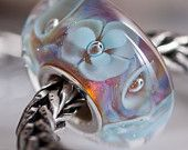 GlassBonBon Lampwork Glass Bead SRA  fits all kinds of european charm bracelets BHB fully cored