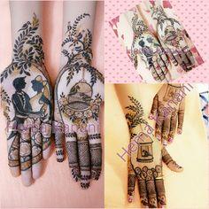 Inspired by Mayuri Mehandi. Stylish Mehndi Designs, Henna Art Designs, Beautiful Henna Designs, Best Mehndi Designs, Mehndi Designs For Hands, Engagement Mehndi Designs, Wedding Mehndi Designs, Dulhan Mehndi Designs, Mehendi